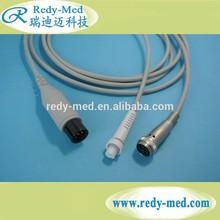 compatible reusable Spacelabs Co Cardiac Output Cable