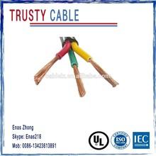 3 core flexible copper wire