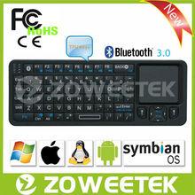 Ultra mini wireless bluetooth keyboard for ipad with backlit combo
