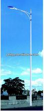 New design solar energy street steel pole