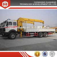 8 ton SQ8SA dump truck with crane