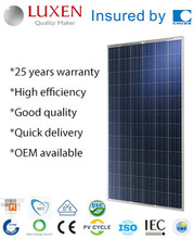 300W High Efficiency TUV Crystalline Silicon Solar Module