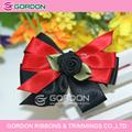 Las flores de la cinta que hace, cinta de raso flores hechas a mano
