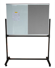 movable pin board with stand