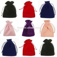 VELVET Jewellery Drawstring Gift Bag POUCHES