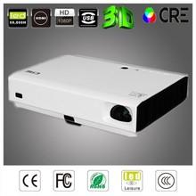 3D Full HD Home Theater Multimedia DLP LED Projector 1080p 1280*800 HDMI USB TF VGA Mini Beamer Christmas Gift