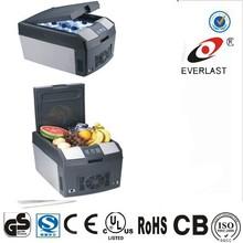 12V portable mini car fridge/freezer electric car cooler dc compressor refrigerator