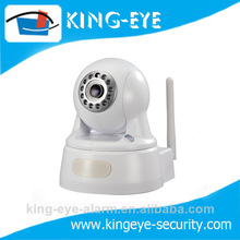 Small indoor dome 720p wireless ip camera with good quality and P2P function