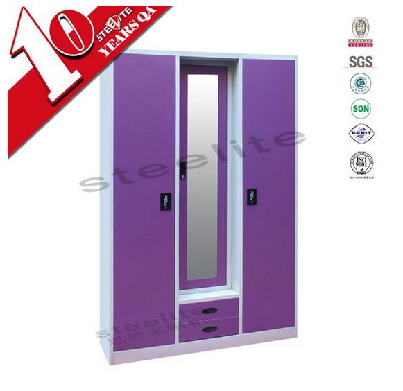 Cheap 3 Door Iron Almirah Cabinet Godrej Steel Almirah With Price Buy Cheap 3 Door Iron