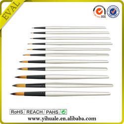 Professional natural plastic paint brush