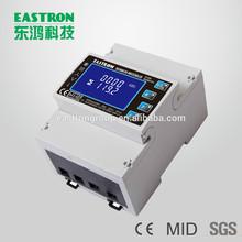 MID certificated ac energy meter, three phase digital kwh meter, multi-function meter,RS485