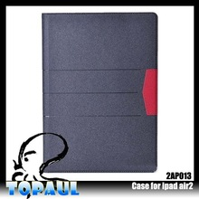 hard flip case for ipad air 2 ,plain case for ipad with solid color