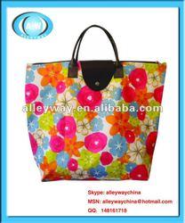 Foldable 600D Nylon Shopping bag