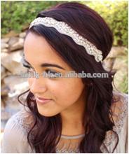 Crystal bridal headband,crystal stone headbands,bridal elastic headband
