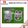 El diseño de conejo de la moda chico juguete de bricolaje a mano- pintado globo/diy imprimir globo
