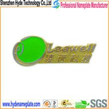 custom metal logo with company name 3D logo