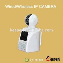 Pan Tilt IR Led Wifi Remote Monitor Indoor p2p IP Camera