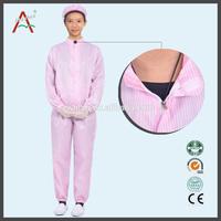 ESD working clothing,cotton smocks, anti-static workwear