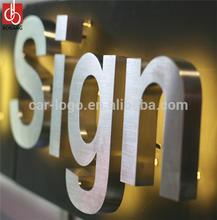 Outdoor Advertising Led Letter/Stainless Steel Letter/Acrylic Led Light Letters