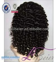 qingdao libeier wholesale brazilian virgin silk top full lace wigs, glueless human hair wigs for black women