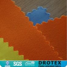 100% cotton and cotton-richer FR fabrics/100% Cotton Twill 315gr/sqm Fireproof fabric