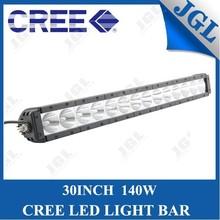 140W led light 5JG-LG-T6140 curved led light bars 4wd hid fog lights