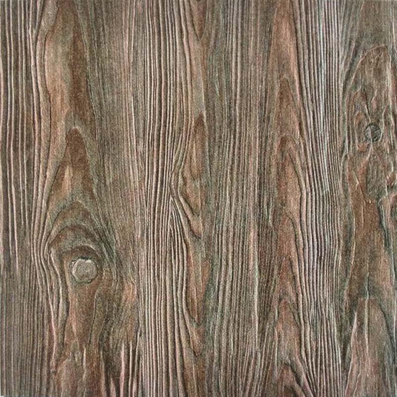 3D 나무 벽돌 텍스처 타일 소박한 세라믹 바닥 타일 크기 600x600mm ...