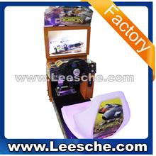 Lsc-005 video game console simulador de condução carro máquina de jogo de corrida FF4 / rodas de liga leve de carro de corrida loucos