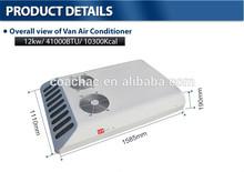 12V 24V roof mounted Sprinter mini van air conditioner for van, mini bus, commercial car