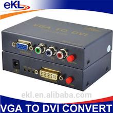 China manufacturer VGA RCA YPBPR TO DVI CONVERTER box