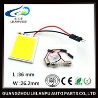 12V T10 Festoon 24chips COB LED Dome Light for Car Auto