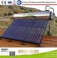 Barato y confiable de acero inoxidable géiser Solar con capacidad de 80 - 100L