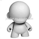 """custom make Blank DIY 7"""" Munny White Figure Vinyl Toy"""