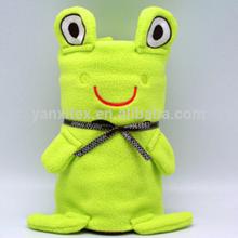 Customize designs 75*100cm micro plush baby toys blankets
