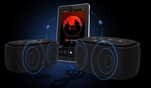 2015 New Design Portable Wireless Bluetooth Speakers with Incredible Sound and Better Volume
