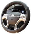 Copertura della ruota di sterzo/moda materiale in pelle volante auto copertura