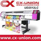 Impresora de tinta base Ecosolvente con cabezales DX5,Galaxy plotter UD-2512LC