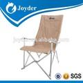 resto de alumínio ao ar livre cadeira de dobradura