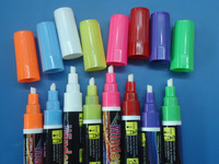 Highlighter wipe clean marker pen 5mm bullet / Regular Tip Dry marker for Board/glass/Window/Cup Enviroment friendly