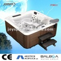 hecho en china de alta calidad de acrílico spa al aire libre bañera de hidromasaje al aire libre y bañera