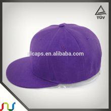 Brown Hip Hop Dancing Snap Back Hat