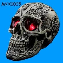 Halloween Decoration Creative Terror Props Resin Skull Ornaments