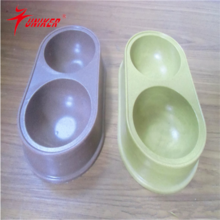 2015 wholesale Bamboo Pet water Bowl Eco-Friendly Organic dog bowl