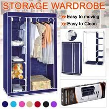 breathable non-woven fabric armoire cheap portable wardrobes bedroom
