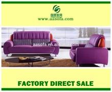 heated purple modern leather sectional sofa