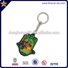 Rubber Key Chain/3D PVC Keychain/Soft PVC Keychain