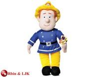 OEM design; plush licensed toys fireman sam