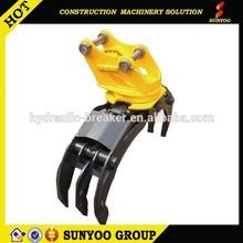 rotating hydraulic grapple