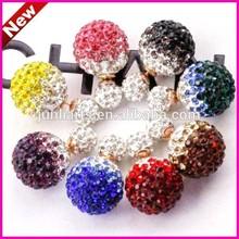 2015 New Shamballa Earrings Fashion Stud Earring Wholesale