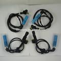 Caliente venta para 00 - 08 BMW 330Ci 330i M3 4 unids ABS Sensor de velocidad de rueda delantera + trasera 34526752681